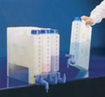 Kompaktiškas konteineris. Medžiaga - PP