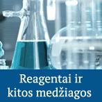 Reagentai ir kitos medžiagos