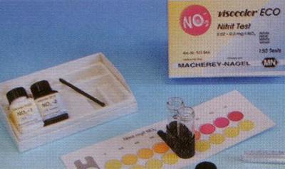 ECO testų rinkiniai su spalvine skale