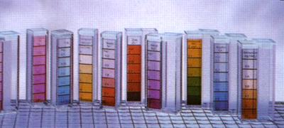 VISOCOLOR® titravimo testų rinkinys